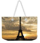 Eiffel Tower At Sunset Weekender Tote Bag