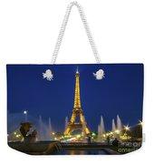 Eiffel Tower By Night  Weekender Tote Bag
