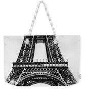 Eiffel Tower Construction Weekender Tote Bag