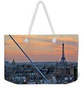 Eiffel Tower From Above Weekender Tote Bag