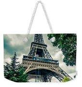 Eiffel Tower In Hdr Weekender Tote Bag
