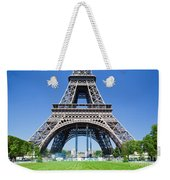 Eiffel Tower Lower Part Paris Weekender Tote Bag