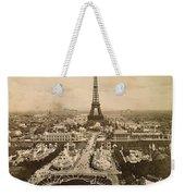 Eiffel Tower, Paris, 1900 Weekender Tote Bag