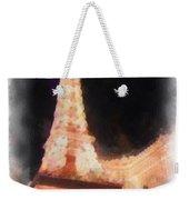 Eiffel Tower Paris Las Vegas Photo Art Weekender Tote Bag