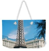 Eiffl Tower Vegas Weekender Tote Bag