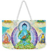 Eight Brothers Of The Medicine Buddha Weekender Tote Bag