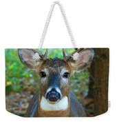 Eight Point Face To Face Weekender Tote Bag