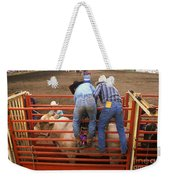 Rodeo Eight Seconds To Payday Weekender Tote Bag