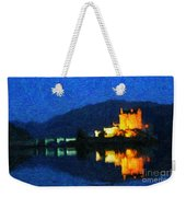 Eilean Donan At Night Weekender Tote Bag