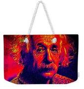 Einstein - Pop Art Weekender Tote Bag