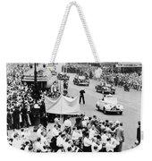 Eisenhower Victory Parade Weekender Tote Bag