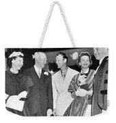 Eisenhowers At Easter Weekender Tote Bag