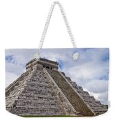 El Castillo Weekender Tote Bag by Adam Romanowicz