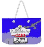 El Conquistador Hotel Demolition Sign 1968 Tucson Arizona 1968-2012 Weekender Tote Bag