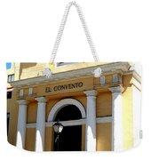 El Convento Hotel Weekender Tote Bag