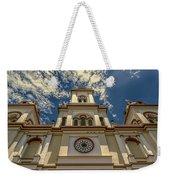 Lady Of Rosary Weekender Tote Bag