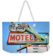 El Ray Motel Weekender Tote Bag