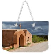 El Santuario De Chimayo Cross Weekender Tote Bag