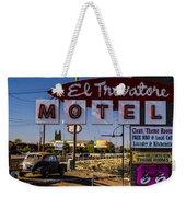 El Trovatore Motel Weekender Tote Bag