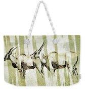 Eland-modern Weekender Tote Bag