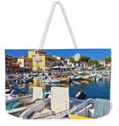 Elba Island - Marina Di Campo Weekender Tote Bag