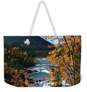 Elbow River View Weekender Tote Bag