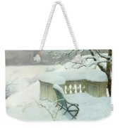 Elbpark In Hamburg Weekender Tote Bag by Fritz Thaulow