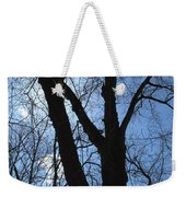 Elder Maple Silhouette Weekender Tote Bag