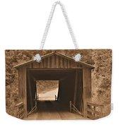 Elder Mill Covered Bridge Weekender Tote Bag