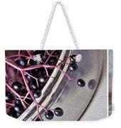 Elderberry Weekender Tote Bag