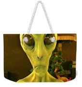 Elderly Alien Weekender Tote Bag