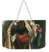 Elderly Moroccan Jew, 1867 Oil On Canvas Weekender Tote Bag