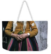 Elderly Woman Weekender Tote Bag