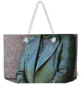 Eleanor Roosevelt Memorial Detail Weekender Tote Bag