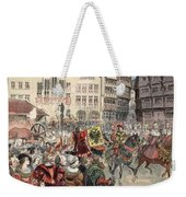 Election To The Empire The Procession Weekender Tote Bag