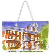 Electric Courthouse Weekender Tote Bag