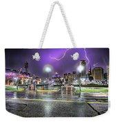 Electric Detroit  Weekender Tote Bag