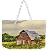 Electric Fan Quilt Barn Weekender Tote Bag by Cricket Hackmann