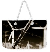 Electric Fence Duo Tone Weekender Tote Bag