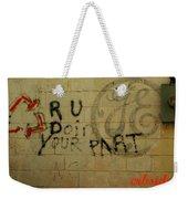 Electric Graffiti  Weekender Tote Bag