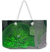 Electric Green Weekender Tote Bag