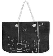 Electric Guitar Patent 039 Weekender Tote Bag