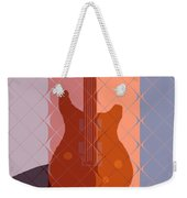 Electric Guitar Solo Weekender Tote Bag