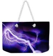 Electric Hand Weekender Tote Bag