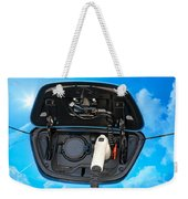 Electric Hybrid Car Charging Socket Weekender Tote Bag