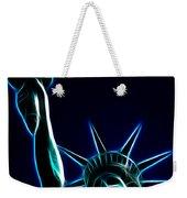 Electric Liberty Weekender Tote Bag