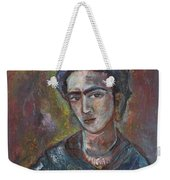 Electric Light Frida Weekender Tote Bag