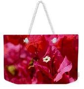 Electric Pink Bougainvillea Weekender Tote Bag