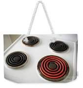 Electric Stovetop Weekender Tote Bag