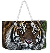 Electric Tiger Weekender Tote Bag
